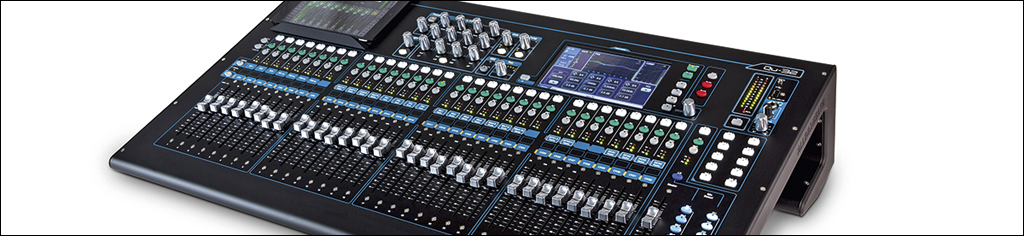 Nieuw in de verhuur bij MVS #Allen & Heath Digital mixers QU series#16 en 32 channels