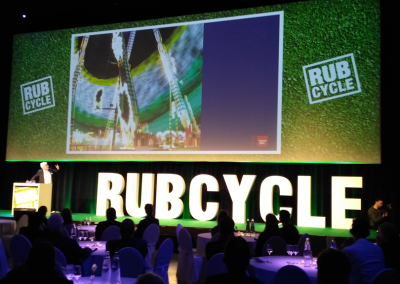 RUBCYCLE CONGRESS DOCKS BRUXSEL EVENTHAL